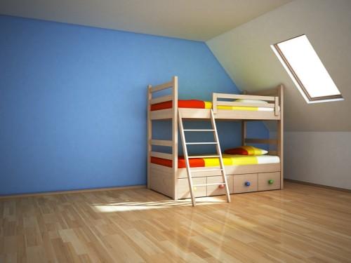 Modrá barva v interiéru, zdroj: shutterstock.com