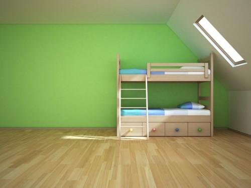 Zelená barva v interiéru, zdroj: shutterstock.com