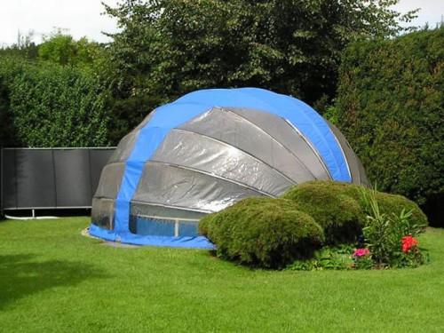 Přenosné zastřešení bazénu, zdroj: shutterstock.com