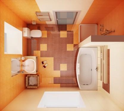 Jak zvětšit koupelnu v paneláku?