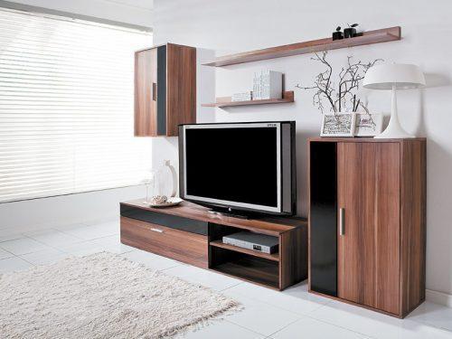 Minimalistická obývací stěna, zdroj:  nabytokakuchyne.sk