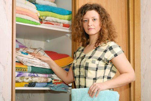 Vyžehlené prádlo, zdroj: shutterstock.com