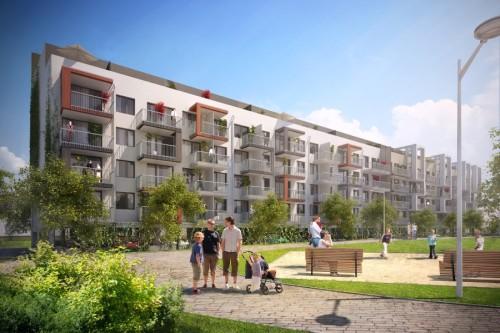 Prosek Park IV tvoří jeden rezidenční dům s 88 byty, zdroj: finep.cz