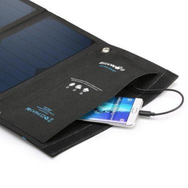 solární nabíječka na mobil