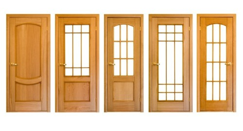 Různé druhy zasklení dveří, zdroj: shutterstock.com